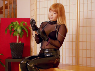 Locked In My New Leather Mittens! - Mina - Full HD 1080p