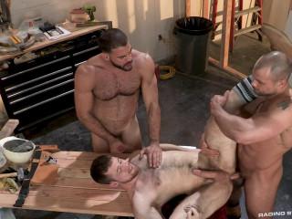 Ricky Larkin, Kurtis Wolfe & Jaxx Thanatos