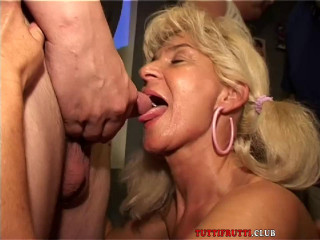Monica double fisted on public hump