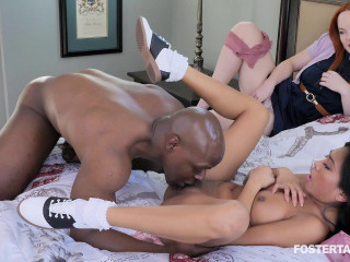 Ember Snow, Summer Hart - Foster Girl Learns Manners The Hard Way