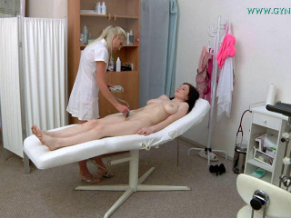 Angel Princess 18 years girl gyno exam