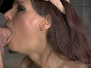 RTB - Sexy Milf shackled down with epic rough deepthroat - Feb 3, 2015 - HD