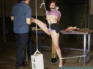 Its Fun to Torture Polly 2 part - Extreme, Bondage, Caning