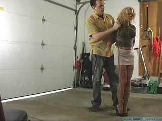 Mandy K is Shown Some Restraint part 1
