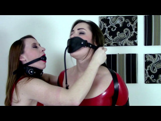 Belle Davis & Serene Isley - Latexed Ladies Getting Gropey