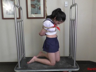 Crystal School Girl Suspension And Spanking - Full HD 1080p