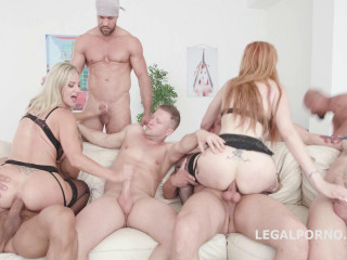 Lauren Phillips & Natalie Cherie - Red Vs Blond Part 2