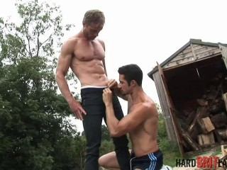 Rock-hard British Lads - Neil Stevens and Dean Monroe
