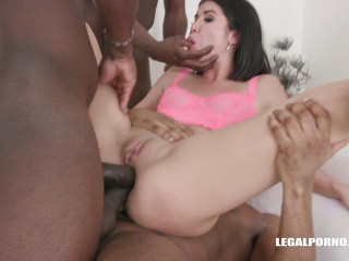 Lady Dee Gangbanged, DP'ed & Dap'ed By Many Black Cocks