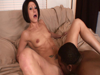 Dark-hued hair mother Jami Kenney Vs. Shorty Mac's cock