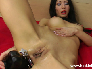 Speculum and Long Dildo