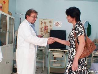 52 years damsel gyno exam