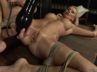 Deepthroat Blonde - Domination HD