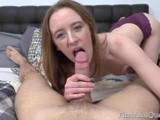 Emma Fantazy - Fantastic first-time anal fuck (2019)