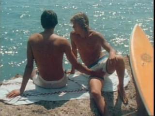 Bareback Surfer Blue (1983) - Brett Chandler, Jack Steele, Sparky O'Toole