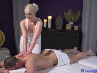 Lovita Fate - Oiled firm young blonde masseuse