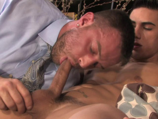 NakedSword - Older Habits Die Hard - Topher DiMaggio & Heath Jordan