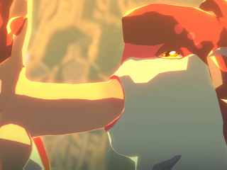 Mipha and Link - Full HD 1080p