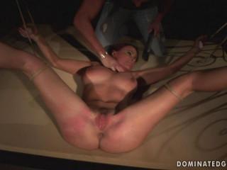 Domination victim on slave auction- Katy