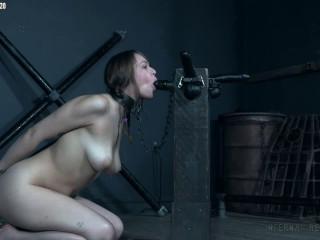 Supah bondage, dominance and torment for insatiable damsel part 2