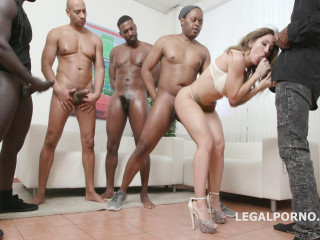 Interracial Gangbang Therapy With Double Anal For Betty Foxxx