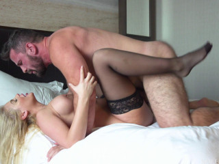 Katy Gapes Her Ass As Manuel Reams Her Rectum