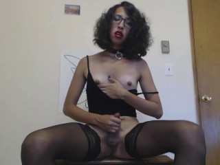 Kinky Office Tgirl