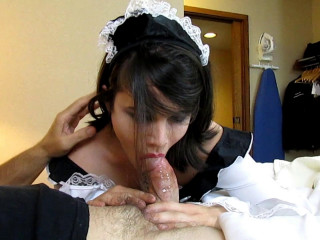 Dirty Fuck toy French Maid
