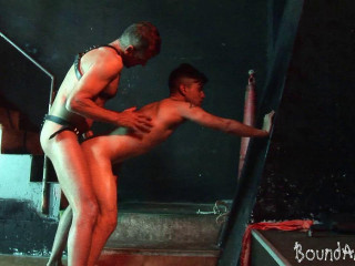 Blindfolded And Corded Man Lured Into Homosexual Sadism & masochism Have fun