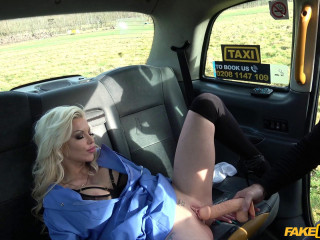 Busty naughty nurse dirty taxi ride