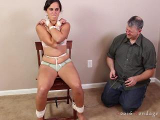 Her Leg Shake - Abby - HD 720p