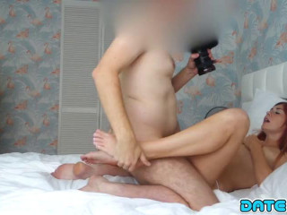 Kattie - Redhead Fucked on First Date
