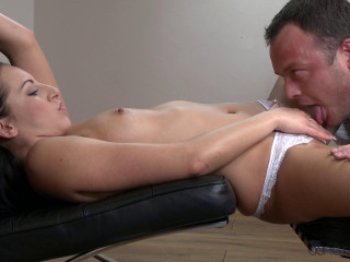 He Fills Her Up With His Creampie Cum