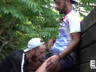 Tahar loads his slut 3 times in a row