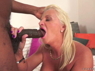 Lusty Granny Annett Craves Dark Meat (1080p)