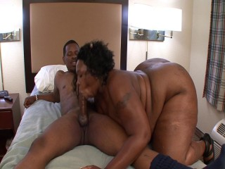 Huge mother ravaged in muff and throat