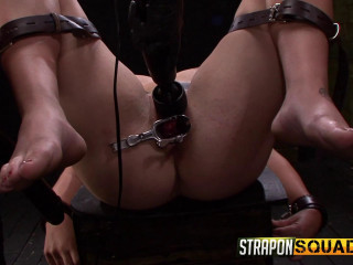 StraponSquad - Apr 08, 2016 - Pain Sex Sub Aryah May is Used & Wrecked