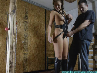 Outfit and Leather Gear Fitting 2 part - Extreme, Bondage, Caning