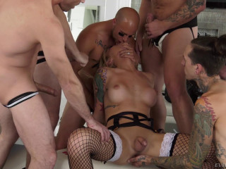 Amazing Orgy For Beauty TS Aubrey Kate