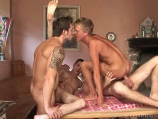 Bareback Orgy