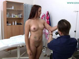 Carol Dee (23 years girl gyno exam)
