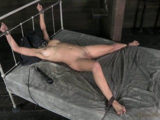 Cherie DeVille takes on two cock for the first time ever