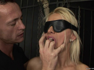 Deepthroat Blonde - Domination HD