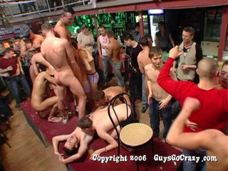 Night Gangbang Party With Crazy Boys