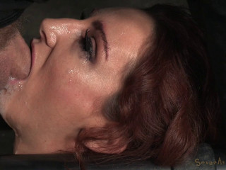 Sandy-haired Savannah Fox Chained To A Sybian