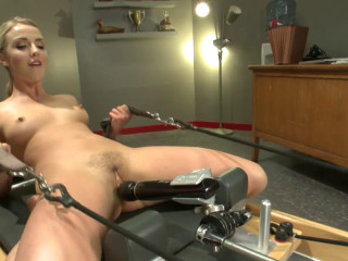 Super bondage, domination and torture for sexy blonde part 2