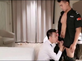 Chinese Maleshow – Xuan Bing is fucking with his friend