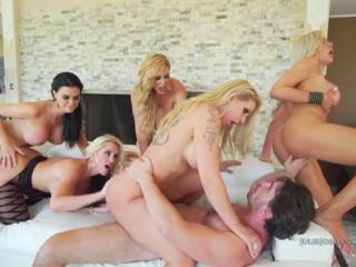 Manuel Ferrara's Switch sides Group sex 3
