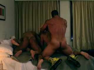 Rogan Richards - Hotel muscle Foursome