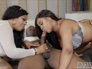 huge tit bbw lethal and aryanna having fun with black cock